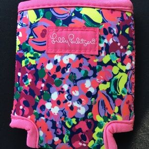 Lilly Pulitzer Wild Confetti Can Koozie Floral